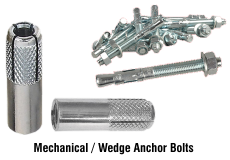 mechanical wedge anchor bolts