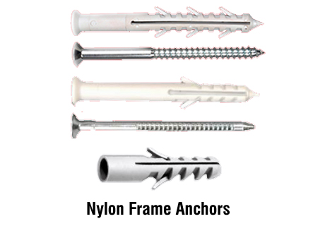 nylon frame anchors